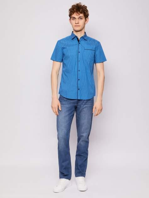 Рубашка мужская Zolla z01123220604350P0, синий