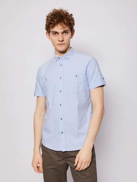 Джинсовая рубашка мужская Zolla z0112322060635100 голубая M