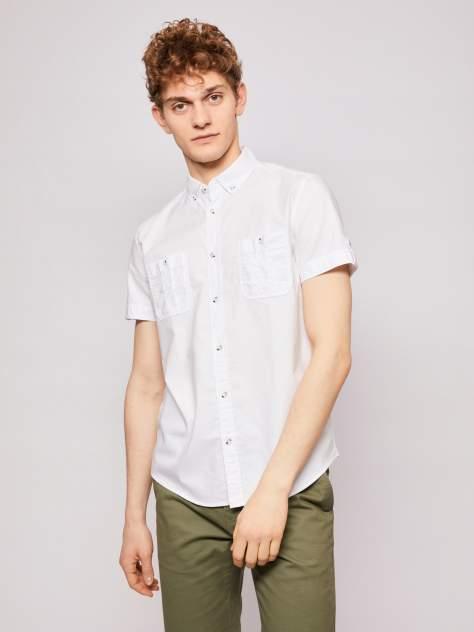 Джинсовая рубашка мужская Zolla z0112322060630100 белая M