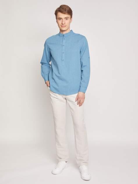 Рубашка мужская Zolla z0112121590336000, бирюзовый
