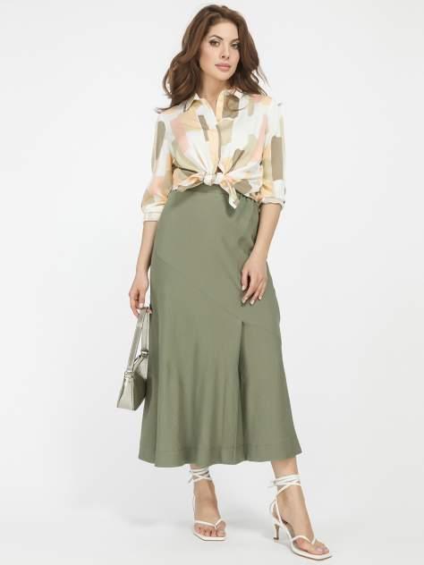 Женская юбка 1001dress HR00018OG, зеленый