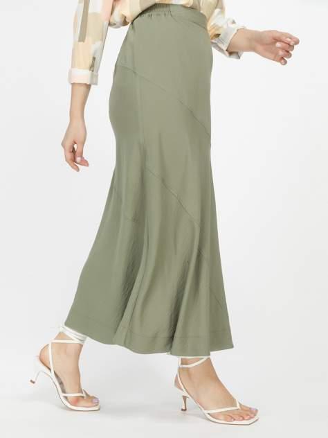 Юбка женская 1001dress HR00018OG зеленая 48