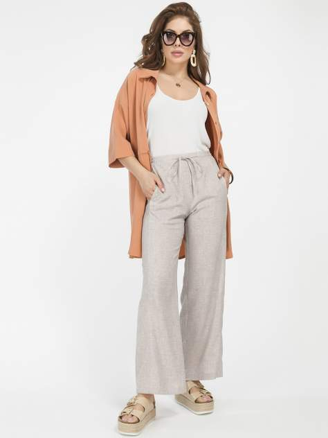 Женские брюки 1001dress HR00010BG, бежевый