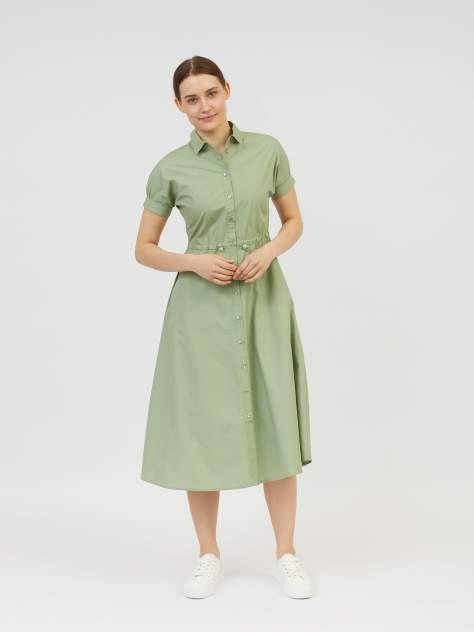 Повседневное платье женское Zolla z0212382591237100 зеленое L