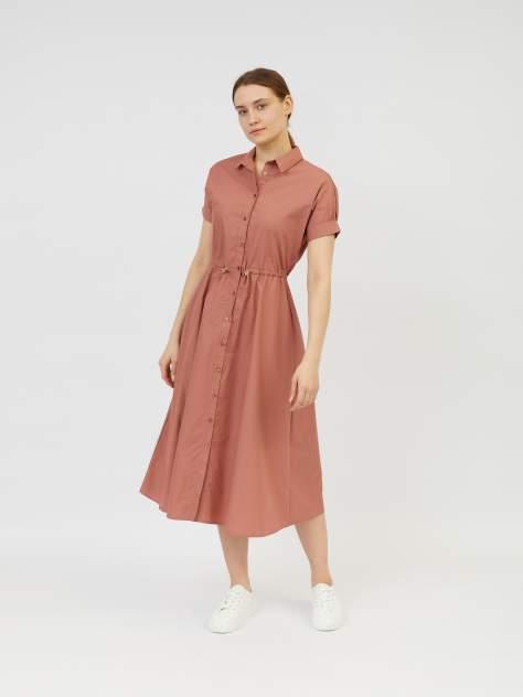 Повседневное платье женское Zolla z0212382591233100 розовое XL