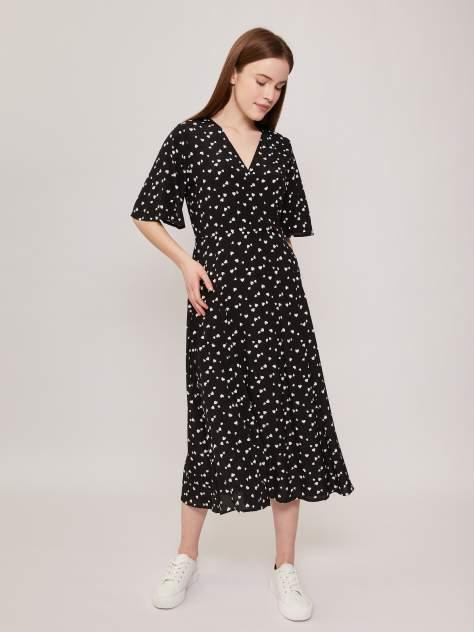 Повседневное платье женское Zolla z02123825932199P0 черное XL