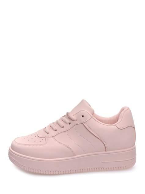 Кеды женские, NOBBARO 08NB-75-01E3TT, розовый