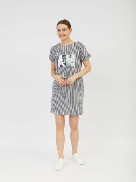 Платье-футболка женское Zolla z02123823920299S0 черное XXXL