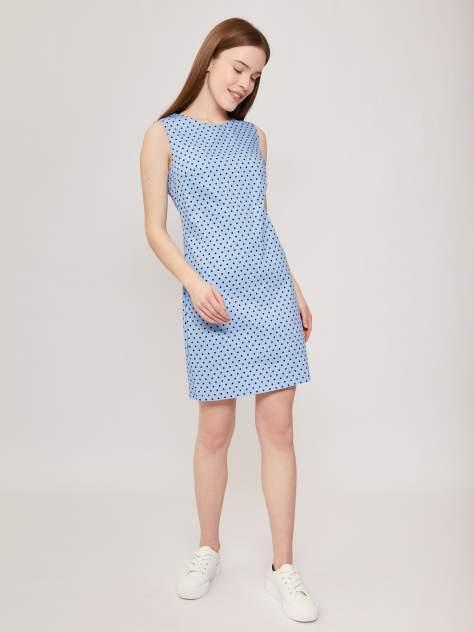 Повседневное платье женское Zolla z02124823935251P0 голубое XL