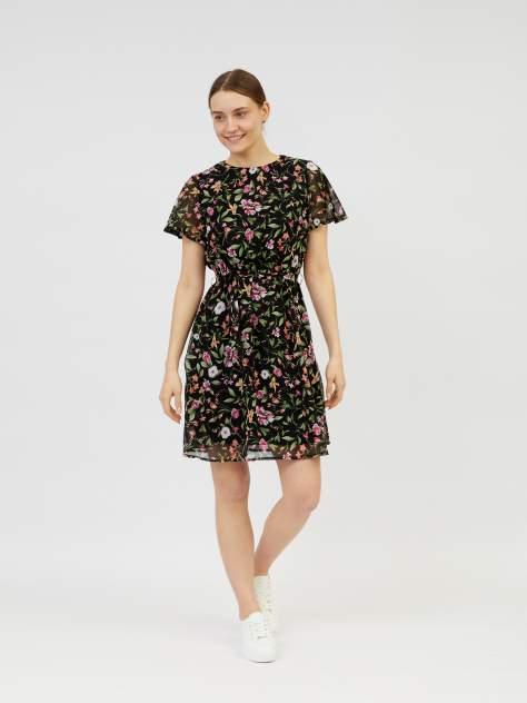Повседневное платье женское Zolla z02123827Y24399P0 черное XL