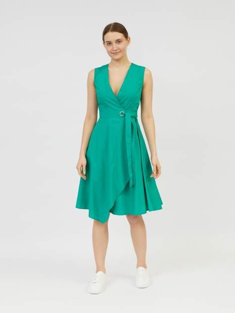 Повседневное платье женское Zolla z0212382390137000 зеленое XXL