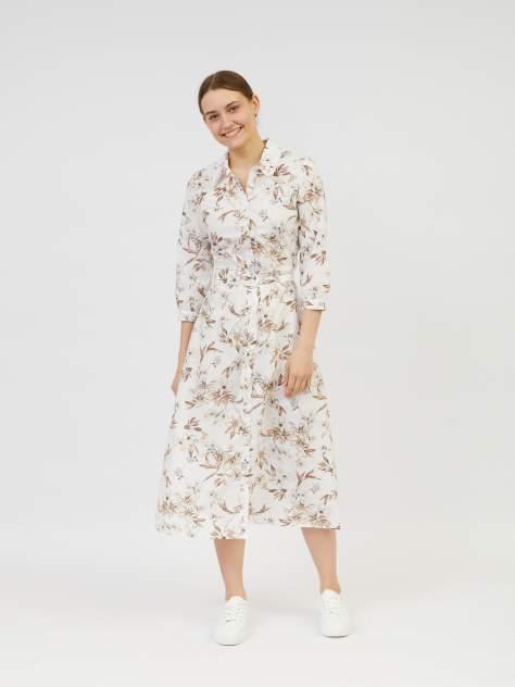 Повседневное платье женское Zolla z02123829113310P0 бежевое S