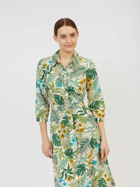 Платье-рубашка женское Zolla z02123829108310P0 бежевое XXL