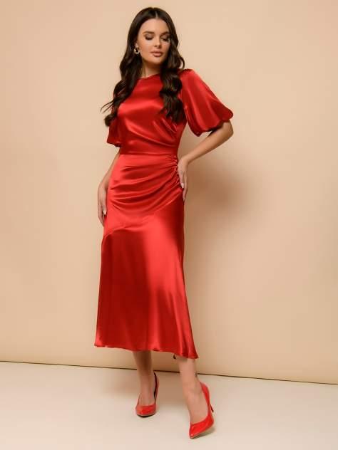 Вечернее платье женское 1001dress 0122001-02331RE красное 42