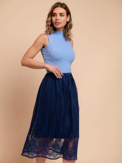 Женская юбка 1001dress 0122110-02431DB, синий