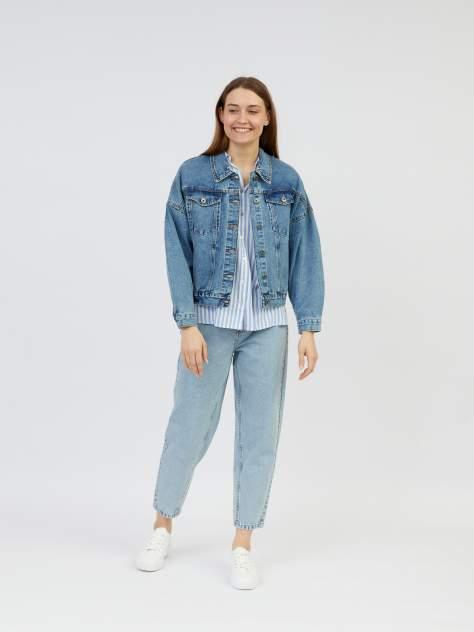 Женская джинсовая куртка Zolla z221235D4Q01351D0, голубой