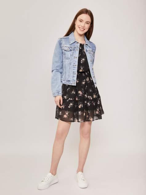 Женская джинсовая куртка Zolla z021245D3V01255D0, голубой
