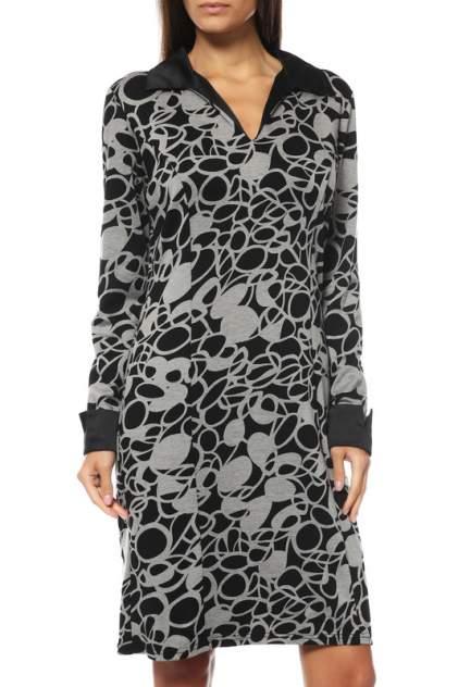 Платье женское BREND S11011 серое 46 RU