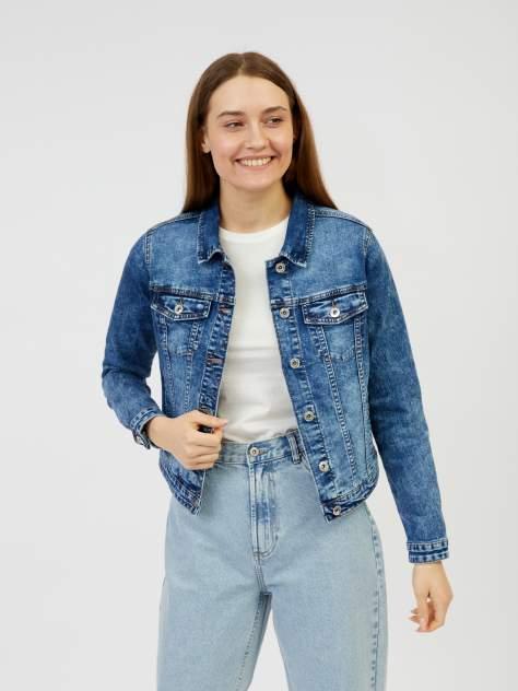 Женская джинсовая куртка Zolla z021235D4S0125000, синий