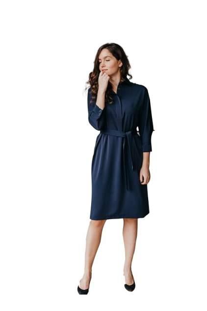 Платье-рубашка женское LACSA 907 синее 52