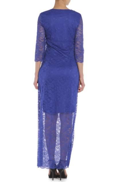 Платье женское Anora 3520 синее 46 IT