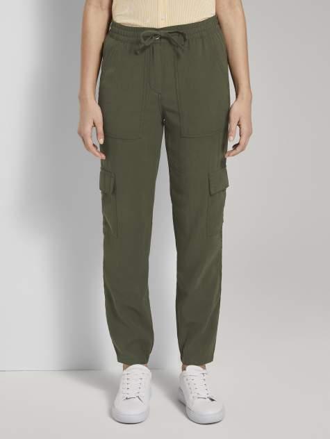 Женские брюки TOM TAILOR 1019986, зеленый