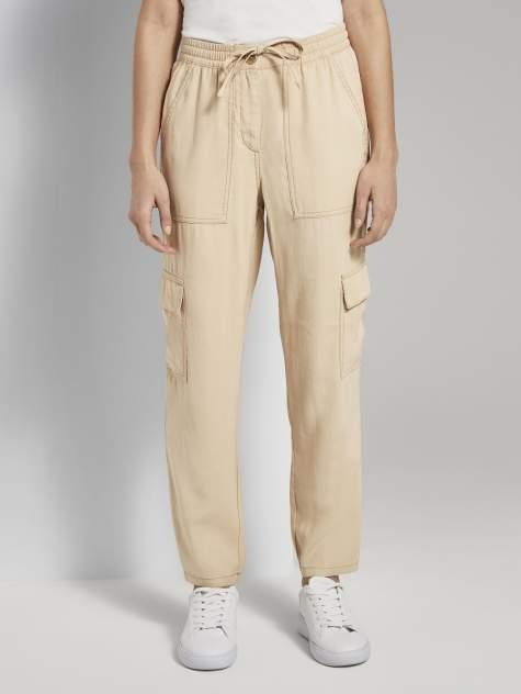 Женские брюки TOM TAILOR 1019986, коричневый