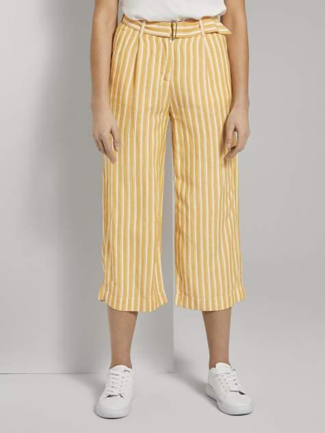 Женские брюки TOM TAILOR 1018282, желтый