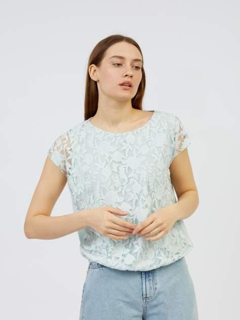 Блуза женская Zolla z02123325907361P0 голубая S