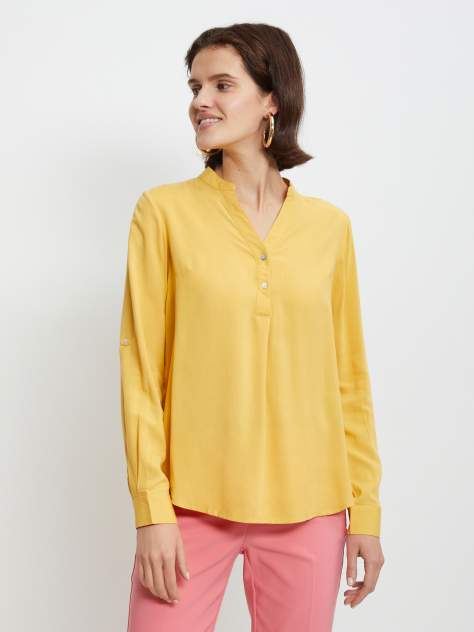 Блуза женская Zolla z0212311622222500 желтая L