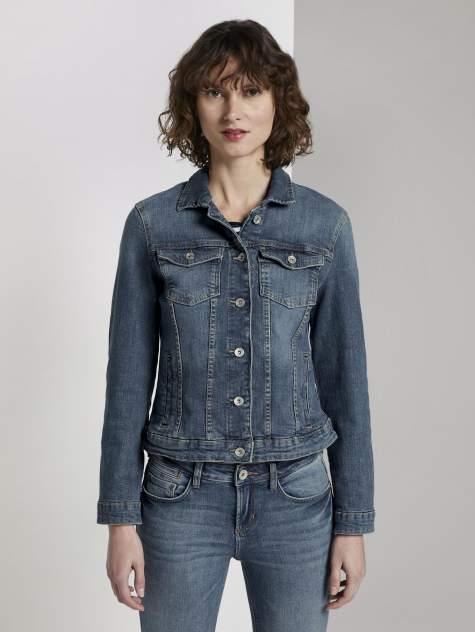 Женская джинсовая куртка TOM TAILOR 1016402, синий
