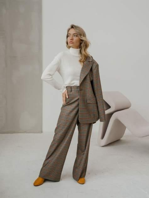 Женские брюки Модный дом виктории тишиной Сити, коричневый