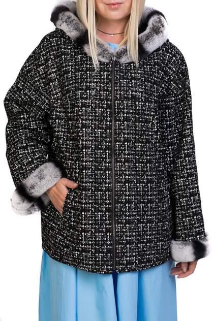 Куртка кожаная женская EXPO FUR 176.60.KPS черная 42