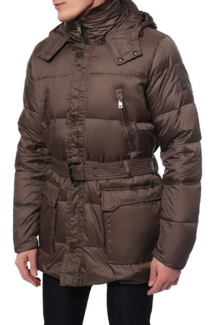 Пуховик мужской HETREGO 8B453R коричневый 52