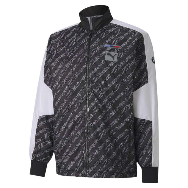 Спортивная ветровка PUMA BMW MMS Street Jacket, черный
