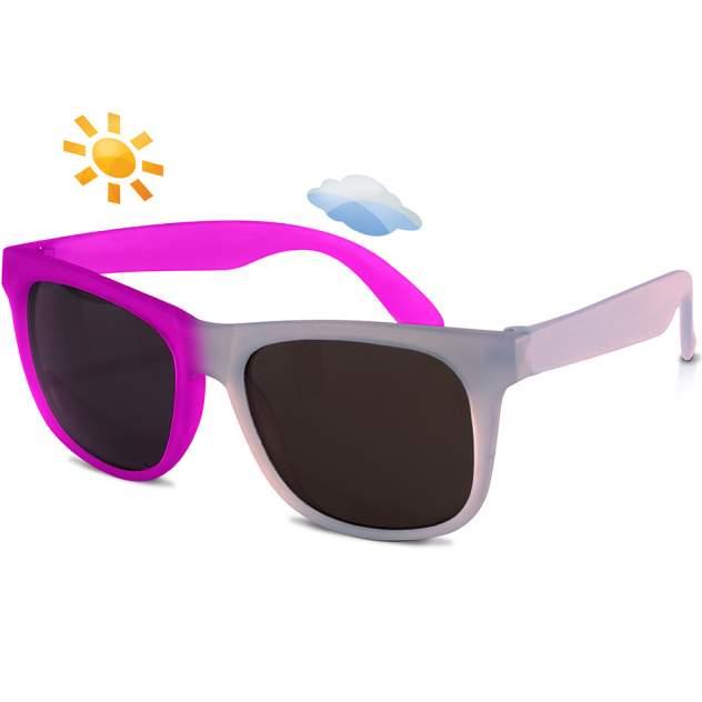 Солнечные очки для малышей Real Kids Switch 2-4 года фиолетовый, розовый
