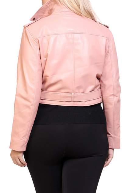 Кожаная куртка женская EXPO FUR S.5 бежевая 38