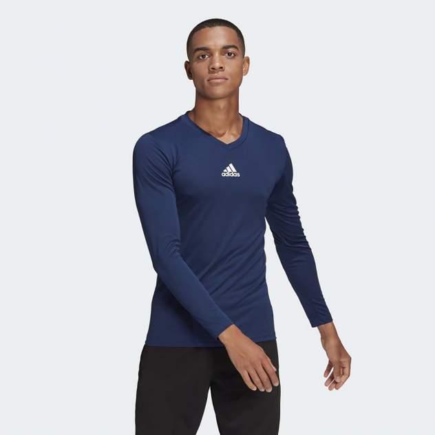 Лонгслив мужской Adidas TEAM BASE TEE синий XL