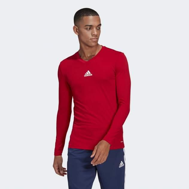 Лонгслив мужской Adidas TEAM BASE TEE красный XL