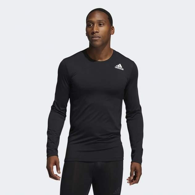 Футболка мужская Adidas TF LS черная XL