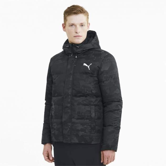 Куртка PUMA Camo Down Jacket, черный