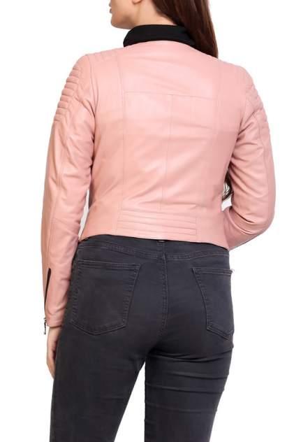 Кожаная куртка женская EXPO FUR S.91 бежевая 38