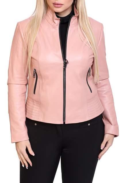 Кожаная куртка женская EXPO FUR S.11 бежевая 38