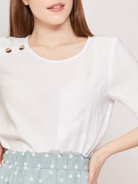 Блуза женская Zolla z0212412591331000 бежевая S