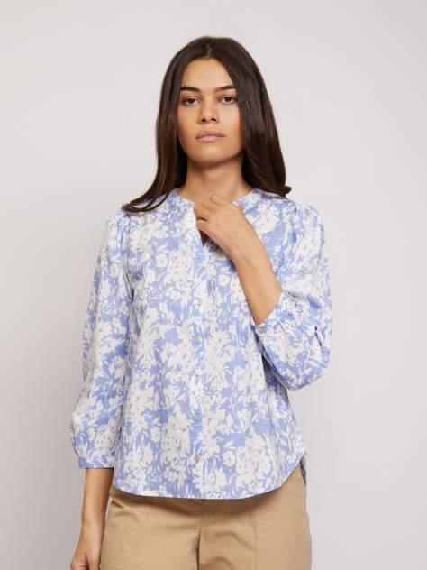 Блуза женская Zolla z02124115932151P0 голубая XS