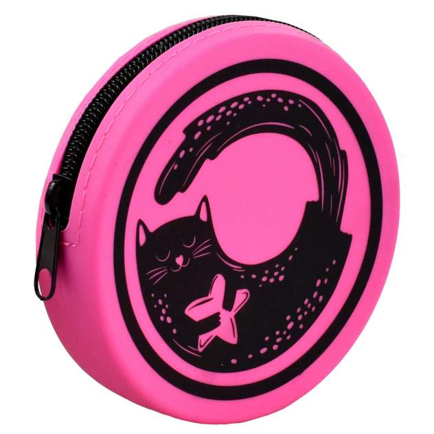 Кошелёк детский Феникс+ для банкнот и монет, арт.54265 25 розовый кот