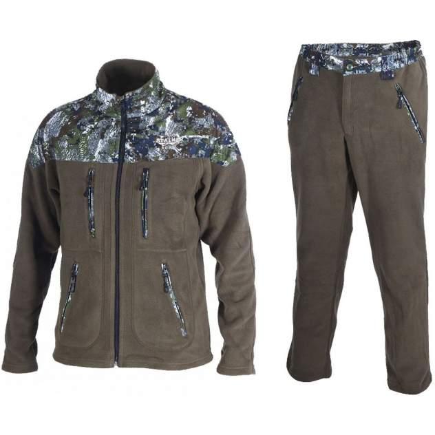 Спортивный костюм мужской ХСН зеленый 58-60 RU