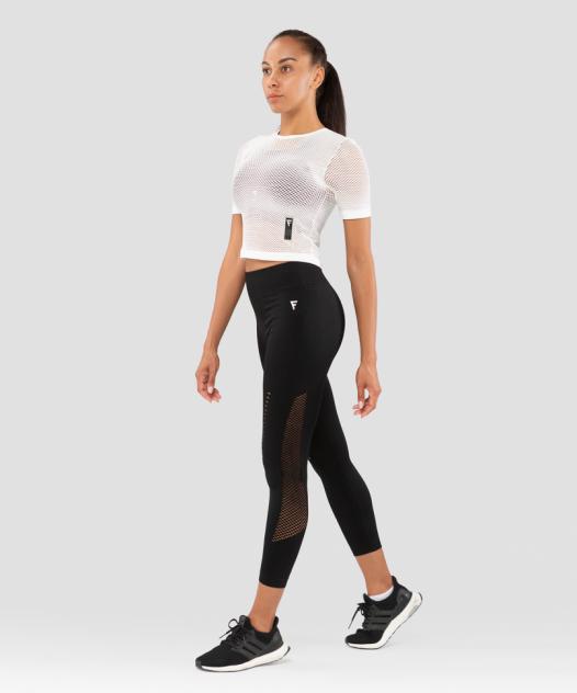 FIFTY Женская футболка Essential Knit white FA-WT-0201-WHT, белый - S