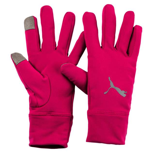 Перчатки унисекс PUMA PR Performance Gloves розовые, р. M
