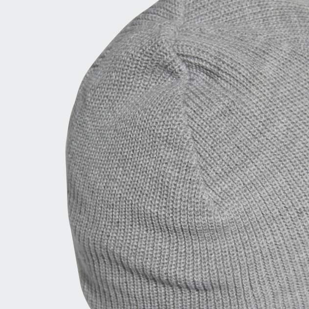 Шапка бини унисекс Adidas PERF BEANIE MH серая, р. 56-58
